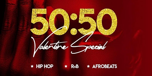 50/50 - RnB Valentine at Bow Lane Social