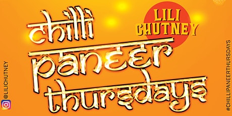 Chilli Paneer Thursdays tickets