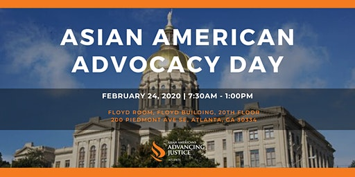 2020 Asian American Advocacy Day