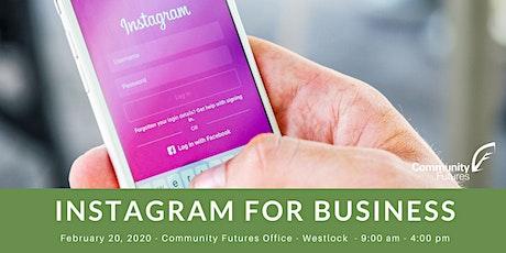 Instagram for Business - Westlock tickets