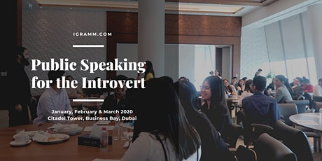 Public Speaking for the Introvert delivered by King's College London tutor tickets