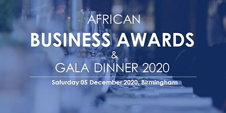 OAN African Business Awards and Gala Dinner 2020 tickets