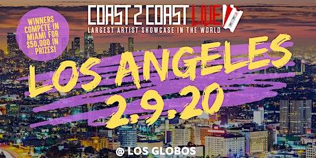 Coast 2 Coast LIVE Artist Showcase Los Angeles - $50K in Prizes! tickets