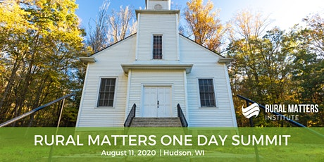 Cancelled:  Rural Matters One-Day Summit - Hudson tickets