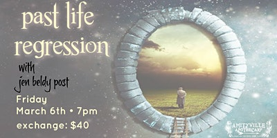 Past Life. Regression with Rev. Jen Post