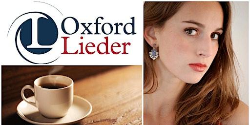OXFORD LIEDER AT FAIRLIGHT HALL: Anna Cavaliero (soprano)