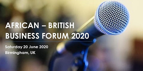 African-British Business Forum 2020 tickets