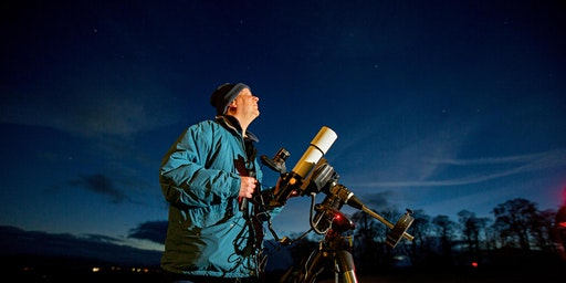 The Pie at Night - Star gazing with Martin Whip and  Steak Pie Supper