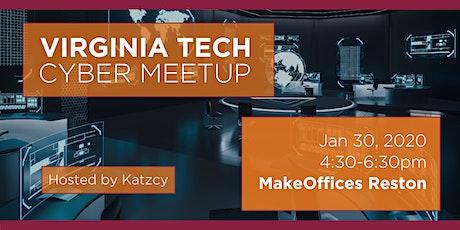 Virginia Tech Cyber Meetup tickets