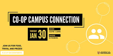 Co-op Campus Connection tickets