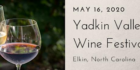 Yadkin Valley Wine Festival tickets