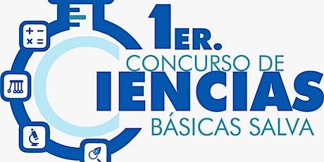 1er Concurso de Ciencias Básicas Salva entradas