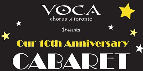 VOCA presents 10th Anniversary Cabaret / Silent Auction tickets