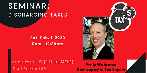 BK mike presents:  Discharging Taxes  with Arnie Wuhrman