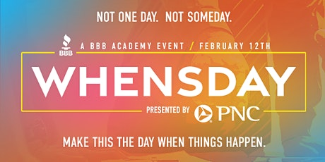 Whensday Panel Event Series- Branding and Social Networking tickets