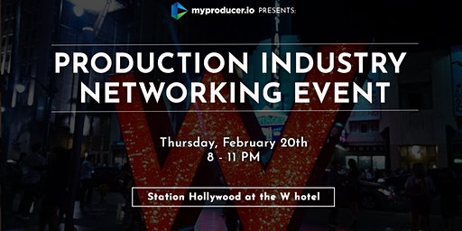 Production Industry Networking Event 2/20/20