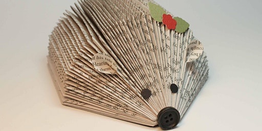 Creation Lab: Recycled Book Art