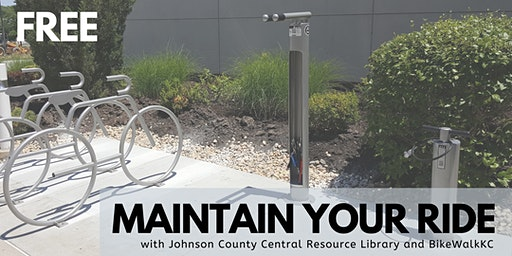 Maintain Your Ride: JoCo Library Edition