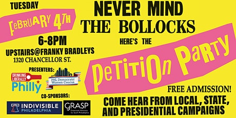 Never Mind the Bollocks, Here's the Petition Party tickets