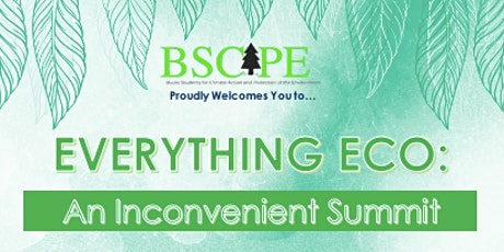 Everything Eco: An Inconvenient Summit tickets