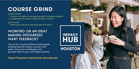Course Grind presented by Impact Hub Houston tickets