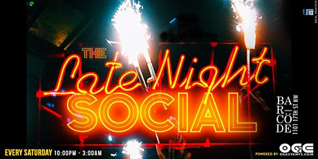 The Late Night Social W/OGE tickets