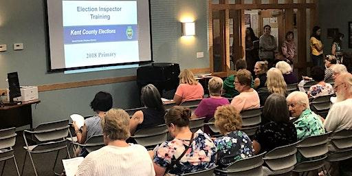 Precinct Election Inspector Training & Certification (1)