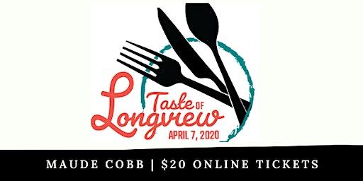 2020 Taste of Longview Tickets