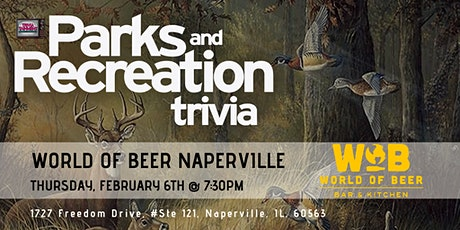 Parks & Rec Trivia at World of Beer Naperville tickets