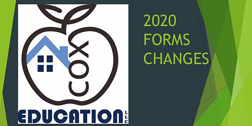2020 Contract Form Changes 3CE Class