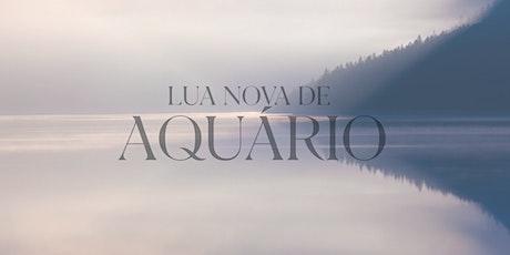 Lua Nova de Aquário | RJ ingressos