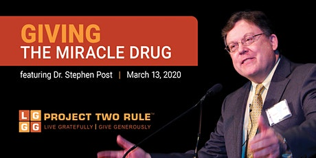 Giving - The Miracle Drug tickets