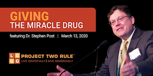Giving - The Miracle Drug