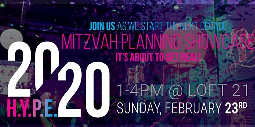 H.Y.P.E. 2020 Mitzvah Showcase