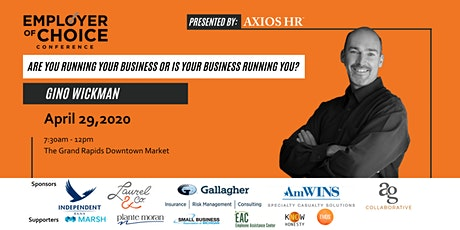 Employer Of Choice Conference 2020 - Hosted By Axios HR tickets