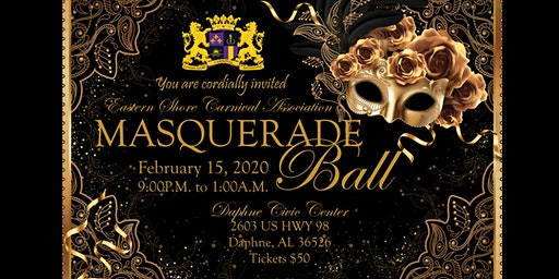 Eastern Shore Carnival Association - Masquerade Ball 2020