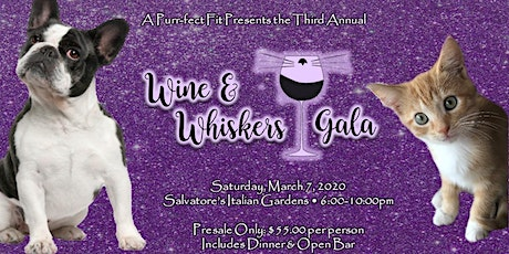Wine & Whiskers Gala tickets