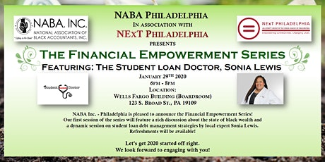 The Financial Empowerment Series - Part One: Student Loan Strategies & Black Wealth tickets