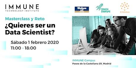 ¿Quieres ser un Data Scientist? tickets