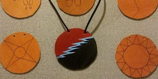 Leather Medallion Workshop 10 am