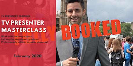TV Presenter Masterclass - London  tickets