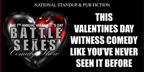Valentine's Day Battle of the Sexes Comedy Show at Pub Fiction tickets