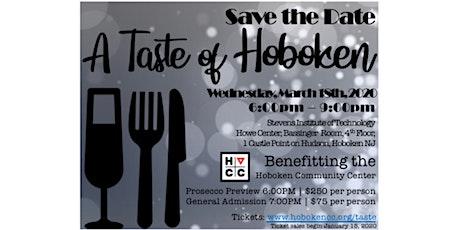 A Taste of Hoboken: 2020 tickets