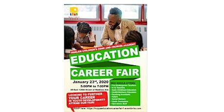 Harlem Children's Zone  Education Career Fair tickets