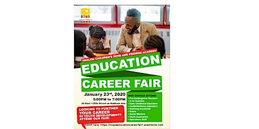 Harlem Children's Zone  Education Career Fair