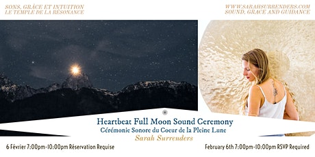 Heartbeat Full Moon Sound Ceremony tickets