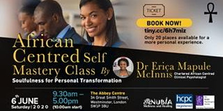 African Centred Self Mastery Class: Soulfulness for Personal Transformation tickets