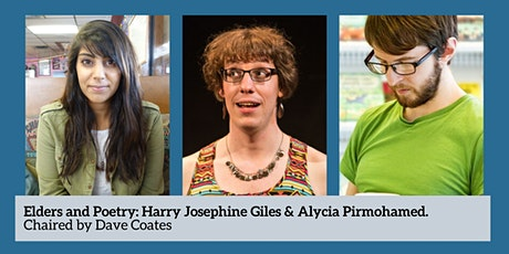 Elders and Poetry: Harry Josephine Giles & Alycia Pirmohamed tickets