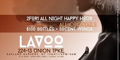 #MondaysBlow at Lavoo Lounge   Happy Hour and Monday Night Football   #LBN