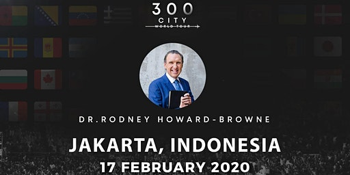 Rodney Howard-Browne in Jakarta, Indonesia